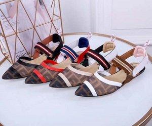 New Fashoin Woman Shoe heels Ladies Flat Female Trend Classics Designer Shoes Elegant Rhinestone Pionted Toes Dress Shoes 001st DI01