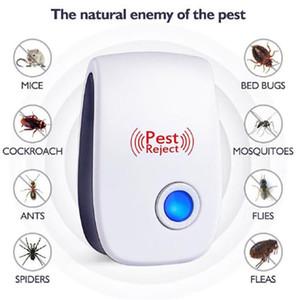 모기 해충은 쥐 마우스 바퀴벌레 구충제 안티 설치류 버그 하우스 사무실을 거부 거부 전자 초음파 해충 펠러 거부