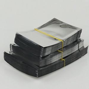 5*7 см - 12x17cm обычный карман, 200 шт. / лот мешки из алюминиевой фольги термосваривание-серебристый алюминирование упаковки пищевой мешок / покрытие фольги пластиковый мешок