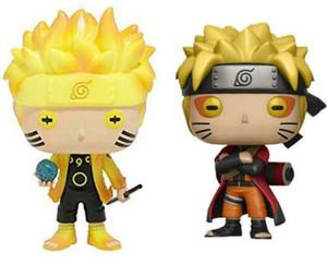 Funko Pop Animation: Naruto-Naruto Six Path / Sage Mode Виниловая Фигурка С Коробкой #185 / #186 Подарочная Кукольная Игрушка