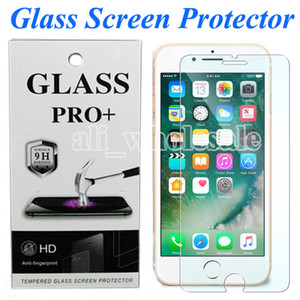 2.5D Clear Tempered Glass Screen Protector for iPhone 7 8 Plus 6 6s 5s se 11 pro max x xs pixel 4 stylo 5 galaxy s10e