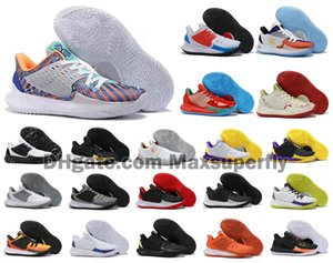 Sıcak Kyrie Düşük 2 II 2S KL2 Düşük Ayak bileği Erkek Basketbol Ayakkabı Irving Yakınlaştırma Spor Ucuz Eğitmenler Sneakers Boyut US7-12
