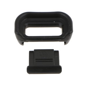 Unique Designed Viewfinder Eyecup Eyepiece with Hot Shoe Cover for Sony A6500 - Prevent Scratching the Eye Mask