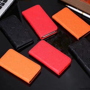 Célèbre marque d'impression cas de téléphone mobile en cuir PU pour iPhone X XS Max XR 11 Pro étui portefeuille de téléphone mobile Max pour iPhone 8 7 6 6S, plus