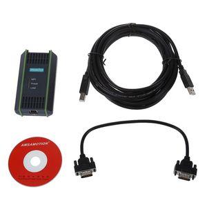 Freeshipping USB Cabo Cabo PPI MPI da programação + CD PARA S7-200 / 300/400 PLC