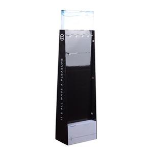عالية الجودة مخصصة تصميم معرض الوقوف ل USB شحن كابل الكرتون عرض الواجهة لملحقات الهاتف