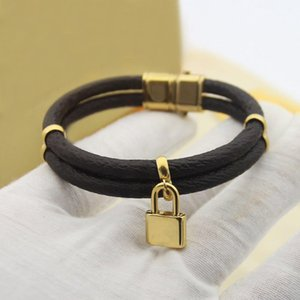 Popular Fashion brand designer Lock bracelets for lady Design Women Party Wedding Lovers gift Luxury Jewelry for Bride with box