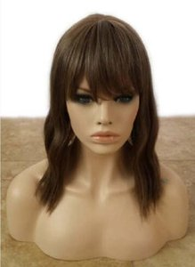 Forever Young Indie Waves HEAT SAFE Wig (Color: Golden Brown) Jewish Hair Cover