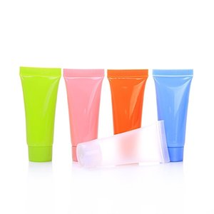 Cosmetic Soft Tube 5ml 10ml plastic Lotion Containers Empty Makeup squeeze tube Refilable Bottles Emulsion Cream Packaging DLH424