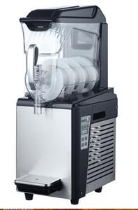 Free shipment 1*10L single tank cooling summer drink making machine smoothie cooling slushie machine frozen slush maker ice slush machine