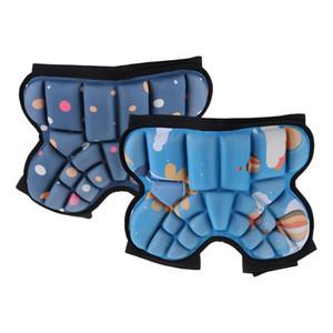 2adet Ayarlanabilir 3D yastıklı Koruma Hip Çocuklar Koruyucu Kalça Pad Kısa Kaymaz