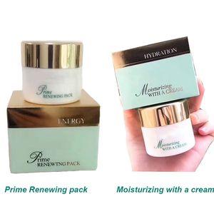 Luxo Energia Prime Renovando Pacote Felicidade Creme Facial máscara hidratante com um 50ml de creme Máscara Anti-Age Rosto