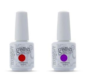 24 unids / lote remojo led uv armonía gel gelish esmalte de uñas gel base de laca base y capa superior