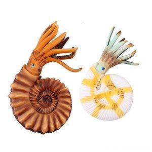 2adet Simülasyon Nautilus Kabuk Okyanus Hayvan Diğer Oyuncaklar Çocuk Eğitim Oyuncak Hediye yEnİ 2pcs Simülasyon Nautilus Kabuk Okyanus Hayvan O Figures