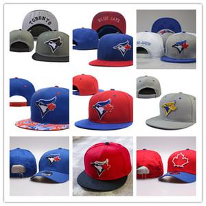 2020 all'ingrosso più nuovo modo Blue Jays snapback ricamo cappelli uomini donne Hat Snapback di baseball di Toronto sfera tappi superiori qualità dell'osso Headwea