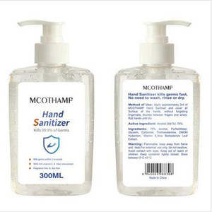 Viajes desinfectante de la mano de lavado libre Mini desinfectante de la mano del hogar jabones líquidos desechables mano de gel Mini Desinfectantes En Stock 300ml ZYQ388
