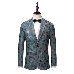 men suit jacket Slim design mens suits blazers Asia size S M L XL XXL XXXL XXXXL men coat