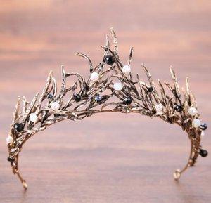 2019 Mejor-venta de la corona de novia de princesa boda Accesorios de ropa de fábrica pelo de la corona Adornos