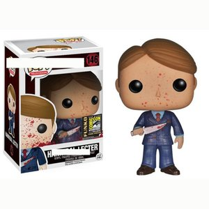 Cute Funko pop #146 Hannibal Lecter Vinyl anime Action & Toy Figures Collectible Model Toy for Children toys new arrival