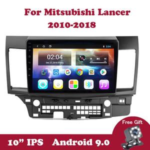 Android 9.0 IPS 10.1 inch Audio Multimedia Player For Mitsubishi Lancer 2010-2020 DVD 2din No 2din 2G+32G Car Radio Autoradio car dvd