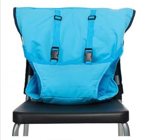 Portátil Viagem Dobrável lavável Baby Crianças Jantar Cadeira Harness assento Capa de Almofada