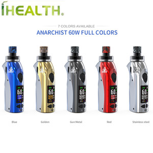 100% Authentic Kangvape Anarchist 60W kit with 4ml Refillable Pod for MTL and DTL Compatiable market 510 thread tank