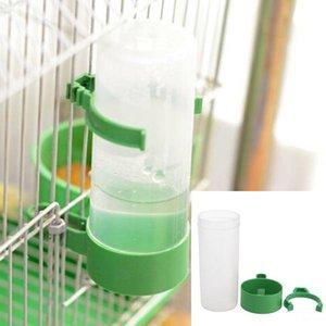 Nueva llegada aviario Budgie Cockatiel Lovebird equipo agrícola práctico pájaro del animal doméstico Bebedor alimentador Waterer mayor el clip