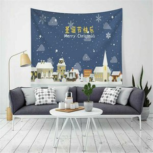 US Natale a tema Tapestry festa di natale Wall Hanging Tapestry casa Room Decor