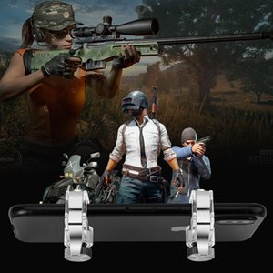 2pcs lot Metal Gamepad PUBG Mobile Trigger Control Smartphone Gamepad Controller L1R1 Gaming Shooter for iphone Android
