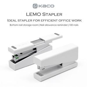 Xiaomi youpin Kaco LEMO cucitrice 24/6 26/6 con 100pcs Staples per Carta efficiente Ufficio Scolastico 3.007.123-B1
