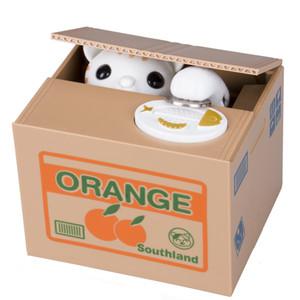 2019 Hot Cat automatisé Stealing Coin Tirelire Tirelire Storage Saving Box