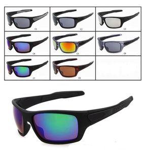 الجملة ألوان جديدة للرجال التوربينات النظارات الشمسية المرأة في الهواء الطلق الرياضة نظارات شمسية مصمم شحن مجاني