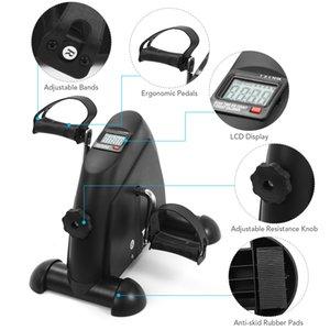 Mini Pedal Stepper Laufband Trainingsmaschine LCD-Display Indoor Cycling Bike Stepper mit einstellbarem Widerstand für Home Gym