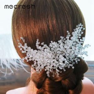 Mecresh Fashion Resin  Bridal Hair Combs Women Accessories Luxury Girls Headpiece Wedding Hair Comb Jewelry for Bride FS183