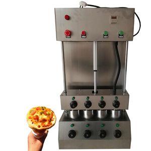 Hot venda comercial Pizza Cone máquina Pizza Cone Criador Hot Sale Cone Molding Machine Pizza Máquina