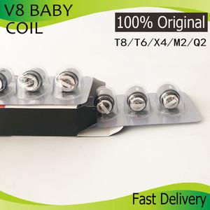 Код Аутентичные V8 Детские Катушки Head AB V8 Baby-T8 Baby-T6 Baby-Х4 Baby-Q2 Baby-M2 Основные Replacment Катушки для V8 РЕБЕНОК Beast танк DHL Free