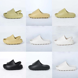 Kinderschuhe Foam Runner Kanye West Slides Sandalen Resin Knochen Earth Brown Desert Sand Strand Kleinkind Slipper Mädchen Junge Kinder Hausschuhe