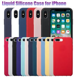 Coque en silicone antichoc en caoutchouc gel pour iPhone X XR XS Max 7 8 Plus 6 / 6s