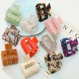 11 color New Fashion Leopard Women Simple hair pins Retro Girls Bun Maker hair clips Clamp DIY Tool hair accessories kJJ329