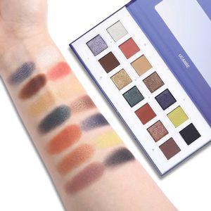 UCANBE 14 Цвет глаз Тени Shimmer Matte Eyeshadow Palette Продолжительный глаз Тени для макияжа Водонепроницаемый глаз Косметика Хорошее качество