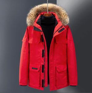 2019 Luxo Canadá Down Jacket Jacket Mens deisgner Inverno Homens Mulheres Alta Qualidade Canadá Inverno Jacket Casacos Designer Casacos de inverno