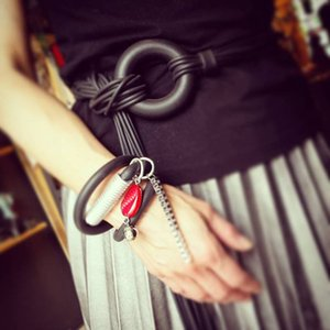 Articoli da regalo YDYDBZ Nuovo cuoio del progettista cinghia per le donne cinghie di cuoio di gomma di moda di lusso della cinghia di vita Abito Accessori partito