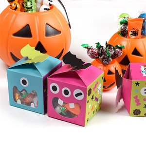 Lovely Halloween Cookie Candy Bread Packaging Bags Multicolor Cookie Candy Packaging Pouch Box Halloween Candy Box CT0290