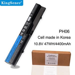 Kingsener Korea Cell PH06 HP ProBook 용 배터리 4520 4520s 4525s 4321 4321s 4320 4320s 4320t 4325s 420 425 320 HSTNN-UB1A PH09