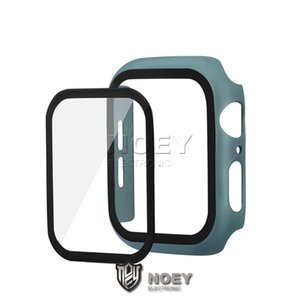 PC Tempered Film Glass for iWatch 42mm 38mm 44mm 40mm Cover for Apple iWatch 5 4 360 Full Screen Case with Retail Packaging