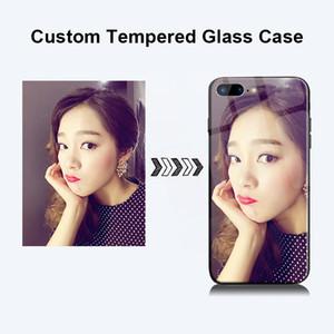 Özel temperli cam durumda iphone 6.5 6.1 xs max xr xs telefon case coque çapa diy tasarım logo ekleme