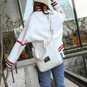 New Women Canvas Bag Leisure Handbags High Quality Ladies Shoulder Pack Bag Durable Bags For Women's Large Capacity Bags Fashion