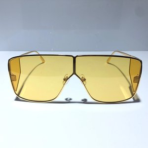 The 0708 Designer Sunglasses for Men Women Fashion Unisex Mask Sunglasses 708 Square Frame Eyewear Coating Lens Carbon Fiber Summer Style