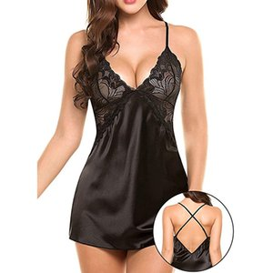 Valentines Day Gift Sex Toys For Women Sexy Nightwear Plus Size Lace Sleepwear Dress Sexy Lingerie Robe Wedding Gifts For Guests