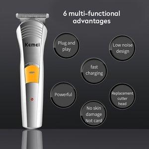 Kemei 570A 7 in1 Homens Rosto Grooming Kit Eléctrico facial cabelo barbeador Trimmer Ear Beard Trimmer cortador de cabelo casecustom.